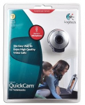 WEB Камера Logitech Qickcam for notebook