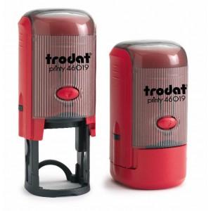 Автоматичен печат Trodat Printy 46019, кръгъл 19мм.
