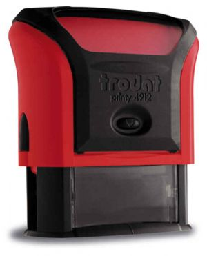 Автоматичен печат Trodat Printy 4912, правоъгълен 18х47мм.