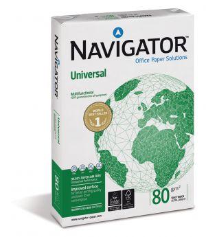 Бяла копирна хартия Navigator Universal, А4, 80гр., 500л.