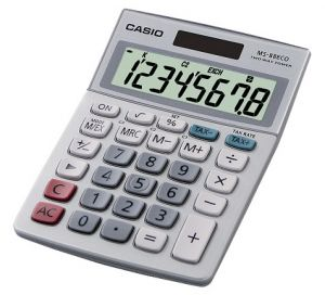 Настолен калкулатор Casio MS 88Eco
