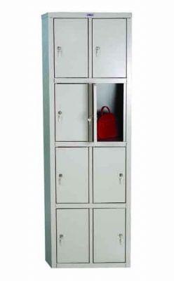 Метален гардероб Промет LE24 с 8 врати