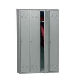 Метален гардероб Промет LE41 с 4 врати