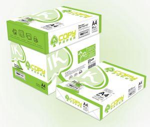 Бяла копирна хартия IK Copy А4, 80гр., 500л.