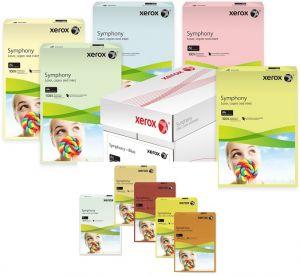 Цветна хартия Xerox Simphony, 80гр., 500л.