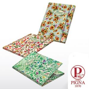 Папка картонена с ластик Pigna Nature