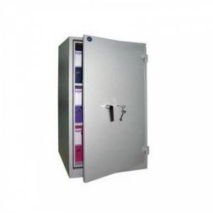 Огнеупорен шкаф Brand Mauer 1260KL с 2 етажерки със сейфова брава