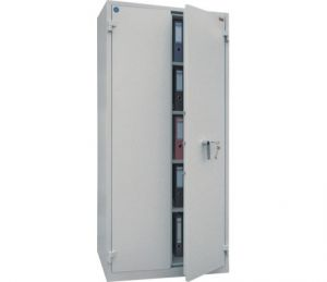 Огнеупорен шкаф Brand Mauer 1993KL с 4 етажерки със сейфова брава