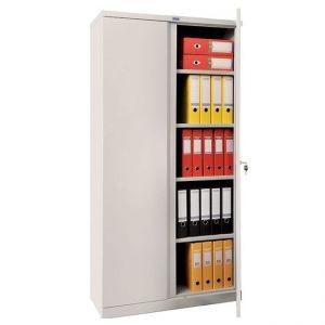 Метален шкаф Промет CB 02 с нормални врати, 3 рафта