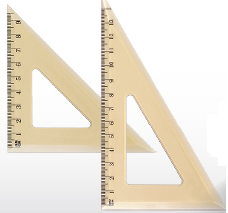 Триъгълник 10см.
