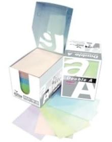 Хартиено кубче DOUBLE A с картонена поставка