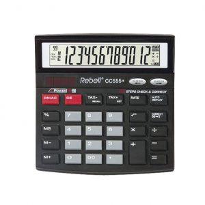 Настолен калкулатор Rebell CC555+