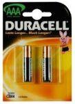 Алкални батерии Duracell Basic LR3/AAA, 2бр