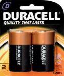 Алкални батерии Duracell Basic LR20/D, 2бр
