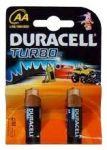 Алкални батерии Duracell Turbo LR6/AA, 2бр