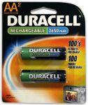 Акумулаторни батерии Duracell LR6/AA, 2бр