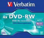 DVD-RW Verbatim 4.7GB 4X