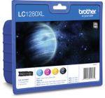 Мастилени касети Brother LC-1280XL BK/C/M/Y
