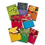 Тетрадка Pigna Fruits , А4/А5, 42 л