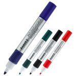 Комплект маркери за бяла дъска Axent Объл връх 4 бр.
