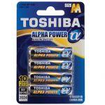 Батерия Toshiba Alpha Power алкална 1.5V LR6/AA 4 бр.