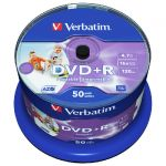 DVD+R Verbatim Printable шпиндел 50