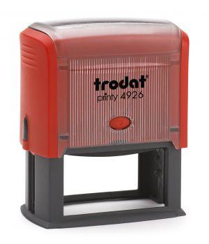Автоматичен печат Trodat Printy 4926, правоъгълен 38х75мм.