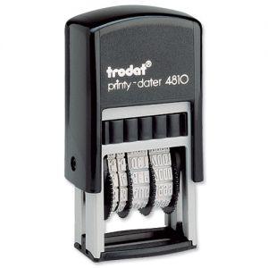 Автоматичен печат датник Trodat Dater 4810, правоъгълен