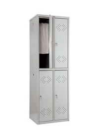 Метален гардероб Промет LE22 с 4 врати