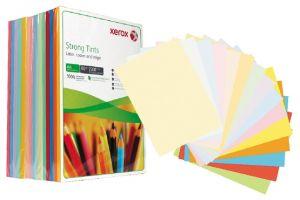 Цветна хартия Xerox Simphony, 5 цвята микс, 80гр., 250л.