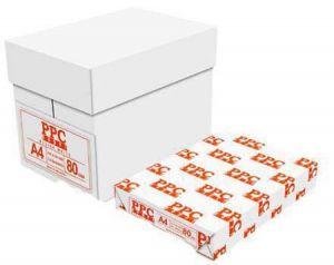 Бяла копирна хартия PPC А4, 80гр., 500л.