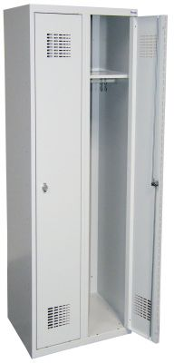 Метален гардероб Malow Wardrobe Locker с 2 врати