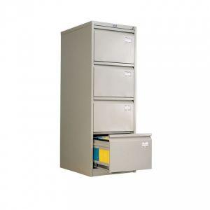 Метален шкаф за висящи папки Промет A44 с 4 чекмеджета