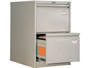 Метален шкаф за висящи папки Промет AFC-02 с 2 чекмеджета