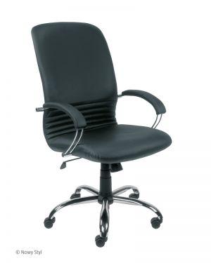 Директорски стол Mirage Steel естествена кожа