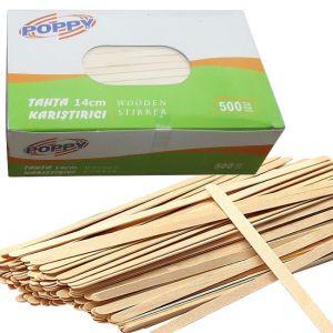 Бъркалки дървени 14 cm 500бр.