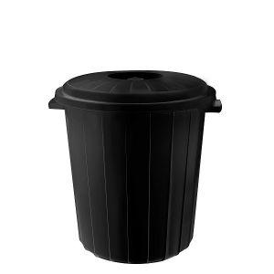 Кош с капак PLANET Черен