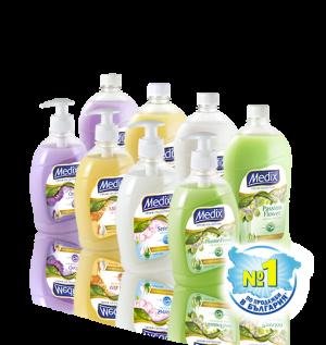 Течен сапун Medix 900ml