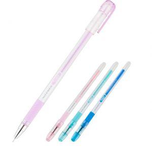 Химикалка с гума Axent Student 0.5 mm Син
