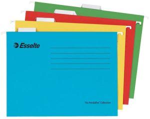 Висяща V-образна папка за картотека Esselte Pendaflex