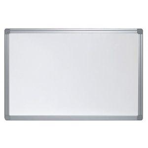 Бяла дъска Bi-Office с алуминиева рамка 90x120 см.