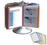 Ротационна настолна информационна система Tarifold Metal