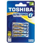 Батерия Toshiba Alpha Power алкална 1.5V LR03/AAA 4 бр.