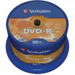DVD-R Verbatim 16x 4.7 GB шпиндел 50 бр.